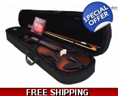 Woodnote VB-330E Antique Style 4/4 Violin Fiddle..