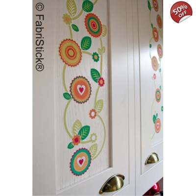 Boho Flower Wall Stickers