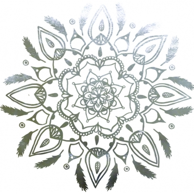 Feather Mandala Wall Sticker
