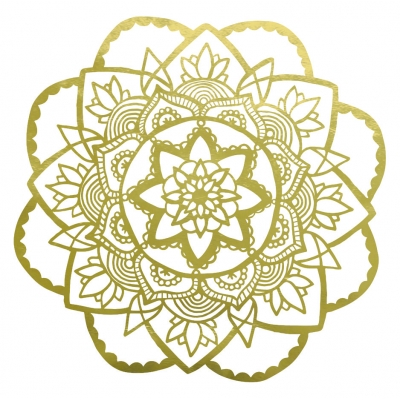 Rose Mandala Wall Sticker