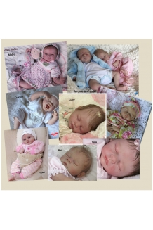 Pat Moulton or Marissa May Baby Kit Meg, Lucy, S..