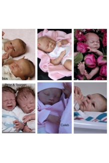 Reborn Preemie baby from Donna Lee, Marita Winte..