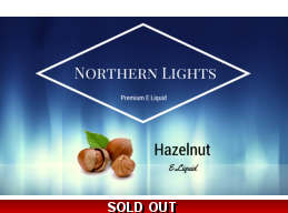 Northern Lights Premium Hazelnut E Liquid