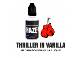 Haze Dog Thriller In Vanilla Nicotine Free E Liquid