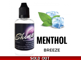 Moon Shine Menthol Breeze E Liquid 2nd Edition