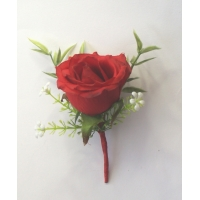 2 of Red Grand Prix  buttonholes ..