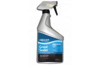 Spray-on grout sealer