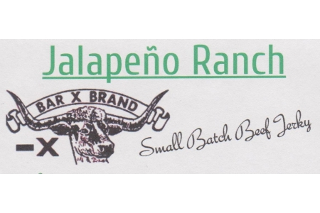 2 OZ Jalepeno Ranch Small Batch Beef Jerky