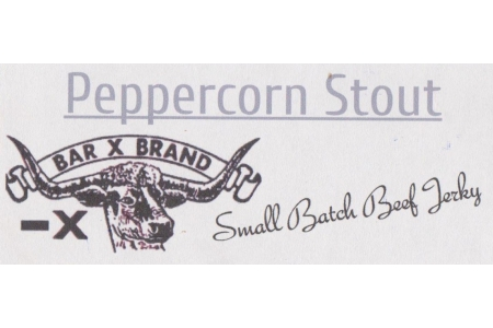 2 OZ Peppercorn Stout S..