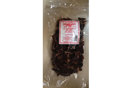 8 OZ CHIPS Peppered Style Old Fashioned Beef Jerky