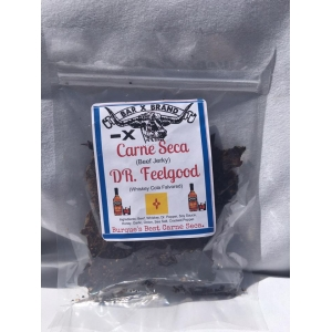 2 OZ Dr. Feel Good Small Batch Beef Jerky