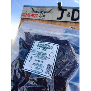 Green Chile Old Fashioned Beef Jerky