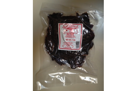7 OZ Red Chile Old Fashioned Beef Jerky