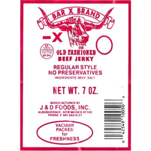 7 OZ Regular Style Old Fashioned Beef Jerky