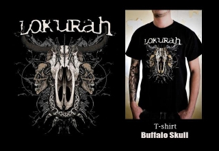 """SOLD OUT"" / T-SHIRT BUFFALO SKULL"
