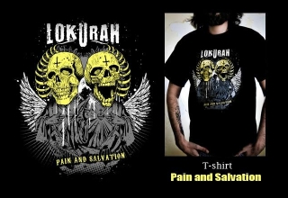 T-SHIRT PAIN AND SALVATION