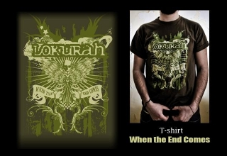 T-SHIRT WHEN THE END COMES