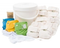 Little Lamb Bamboo Nappy 40 SET
