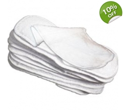 Little Lamb Fleece Liners - 10 pack