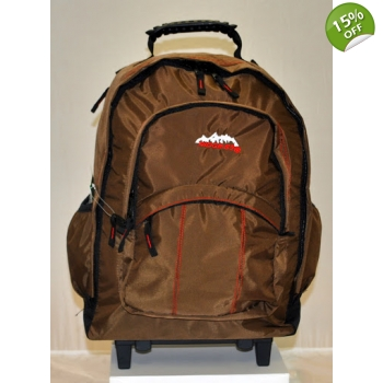Ridge 53 Backpack on Wheels - Temple Brown