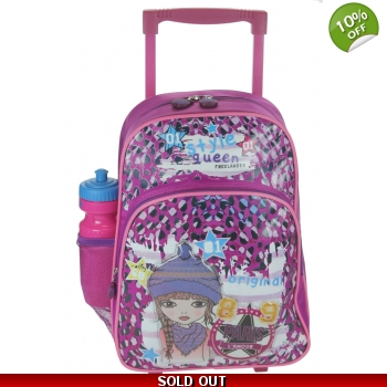 Freelander Style Queen Trolley Backpack 18L - Ra..