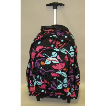 Ridge 53 Backpack on wheels - Temple Berkley Flower - Black or Purple