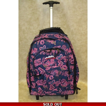 Ridge 53 Backpack on wheels - Temple Whitehall Navy