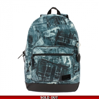 Totto Tocax Backpack 20.46Lts with free wallet -..