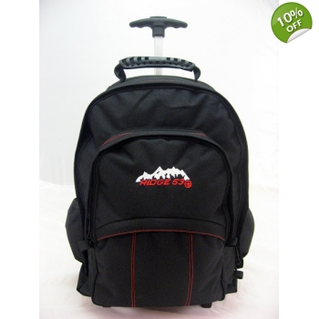 Ridge 53 Backpack on wheels - Temple Black