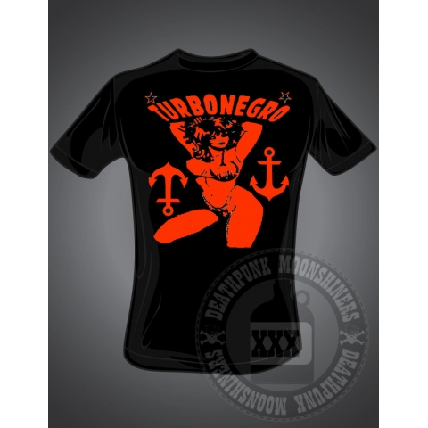 "Turbonegro ""Pin up"" T"