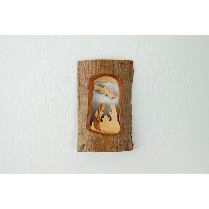 Olive Wood Nativity Carving from the Holy Land
