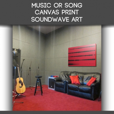 Song Canvas Sound Wave ..