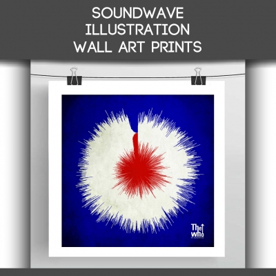 soundwave art prints