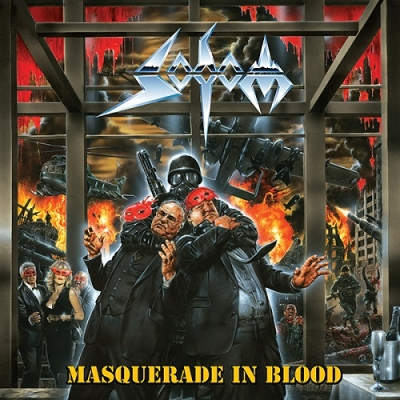 "SODOM ""Masquerade In Blood"" LP BLACK"