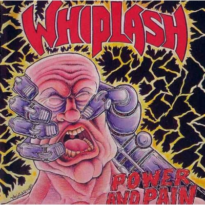 "WHIPLASH ""Power And Pain"" LP"