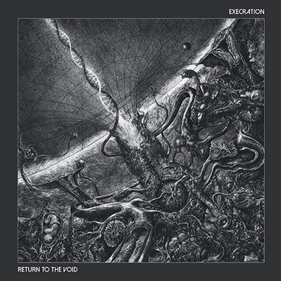 "EXECRATION ""Return to the void"" LP BLACK"