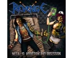 "REVENGE ""Metal Is Addiction And Obsession"" LP"