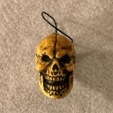 Creepy Skull Ornament