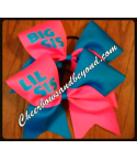 Big Sis - Lil Sis Tick Tock Hair Bow ..