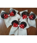 Solid Minnie Ear Bow Se..