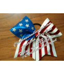 All American Flag bows