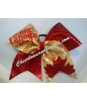 Team Canada Hair Bow