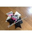 Think Pink Awareness Bow