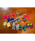 Mini Bow key Chain, Bac..