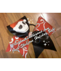 Jack Skeleton Holiday Bow