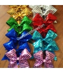 Disco Ball Hair Bows in..