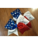 American Flag Bow With ..