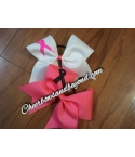 Breast Cancer Bows Pink..