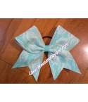 Sea Foam Green Lace Bow