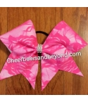 Neon Pink Lace Hair Bow